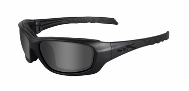 Wiley X Sunglasses - Gravity Black Ops/Matte Black with Smoke Grey Lens - Climate Control Series