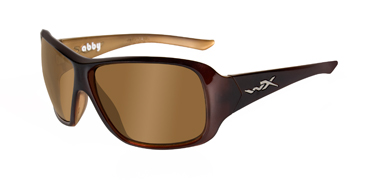 Wiley X Sunglasses - Abby Espresso Brown with Bronze Lens - Street Series