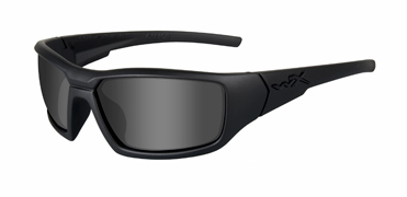 Wiley X Sunglasses - Censor Black Ops/Matte Black with Polarized Smoke Grey Lens - Street Series