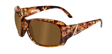 Wiley X Sunglasses - Chelsea Iced Tea with Polarized Bronze Lens - Street Series