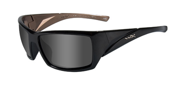 Wiley X Sunglasses - Mojo Gloss Black Metallic Coffee with Smoke Grey Lens - Street Series - LIMITED STOCK