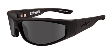 Wiley X Sunglasses - Revolvr Black Ops/Matte Black with Smoke Grey Lens - Street Series - DISCONTINUED