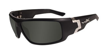 Wiley X Sunglasses - Xcess Gloss Black with Smoke Grey Lens - Street Series