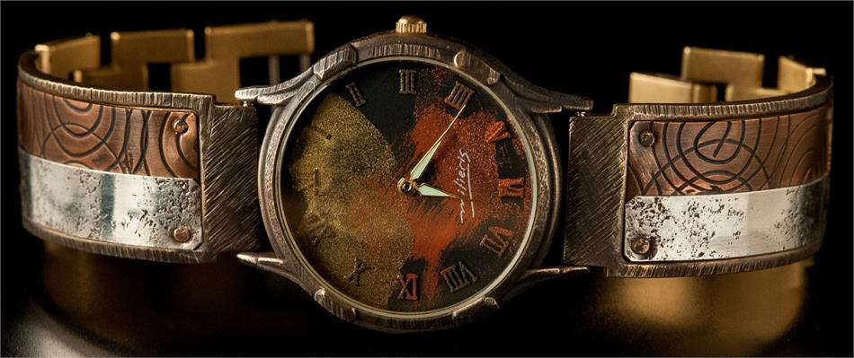 Large Minstrel - WatchCraft (R) Handmade Watch (LVM23)