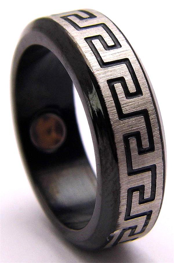 Stainless Steel Magnetic Therapy Ring (USR003) - New!