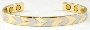 Direction -  Solid Copper Magnetic Therapy Bracelet (MBG-5079) - NEW!