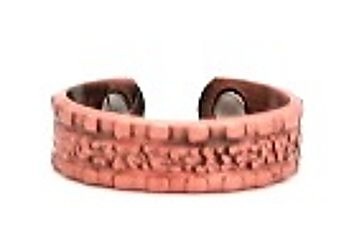 Copper Nugget - Magnetic Therapy Ring (CCR-134) - New!