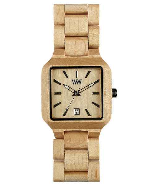 WeWood Wooden Watch - Metis Beige (wwood030) - DISCONTINUED