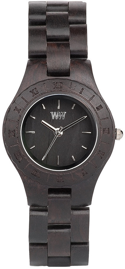 WeWood Wooden Watch - Moon Black - CLEARANCE
