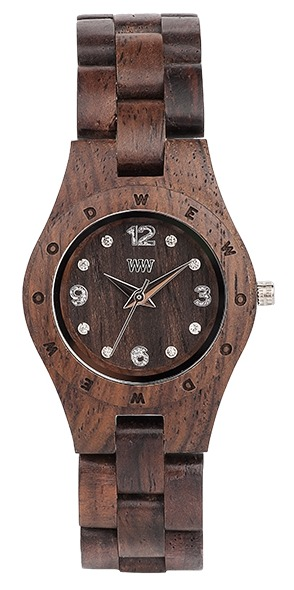 WeWood Wooden Watch - Moon Deneb Chocolate