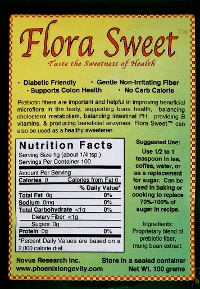 Flora Sweet TM (100 grams) (novusFST)