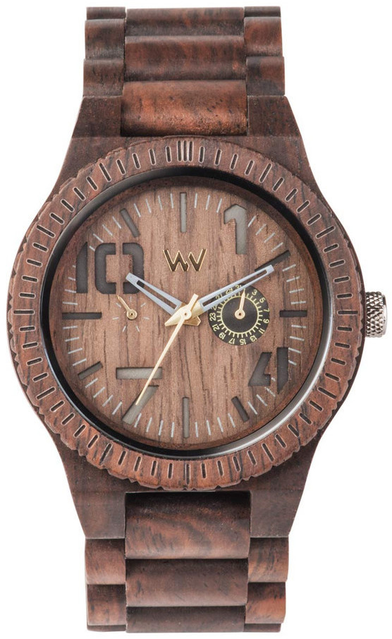 WeWood Wooden Watch - Oblivio Chocolate (WOBCHO) - LIMITED STOCK