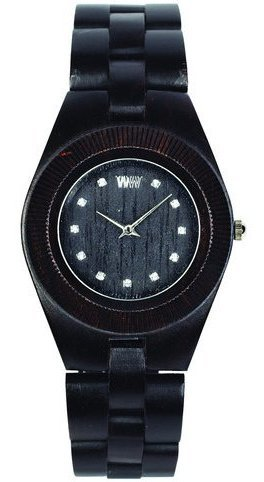 WeWood Wooden Watch - Odyssey Crystal Black