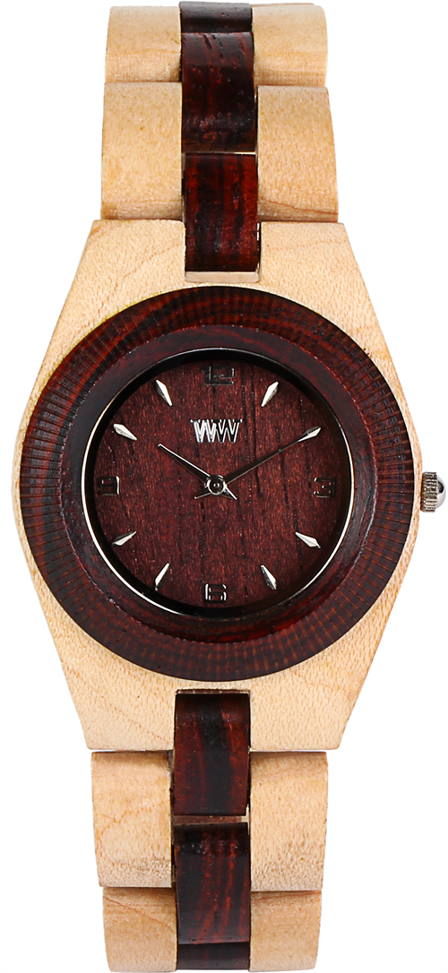 WeWood Wooden Watch - Odyssey Beige/Brown - DISCONTINUED