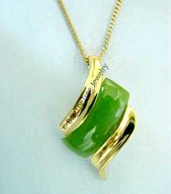 Jade Pendant (P0207) - DISCONTINUED