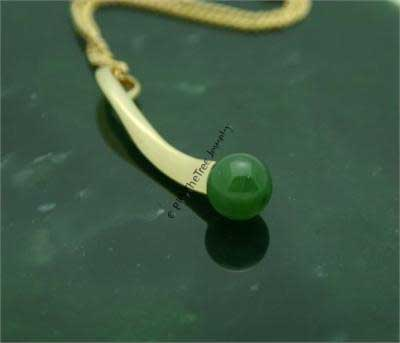 Polar Jade Pendant (P0245) - DISCONTINUED