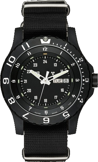 Traser Tritium Watch - Tactical Collection - P 6600 Type 6 MIL-G w/ Nylon Strap - 100269