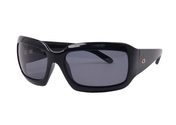 Angel Sunglasses - Peace - Black Frame with Smoke Polarized Lens - DISCONTINUED