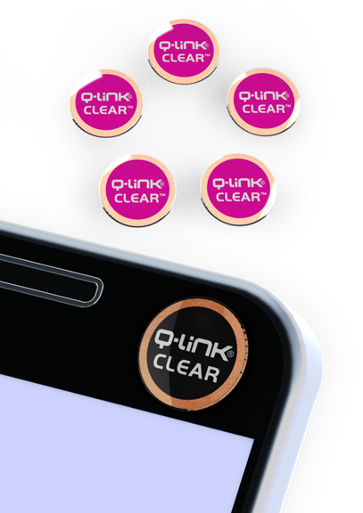 Q-Link CLEAR Pink Multi-Pack of 5 - DISCONTINUED
