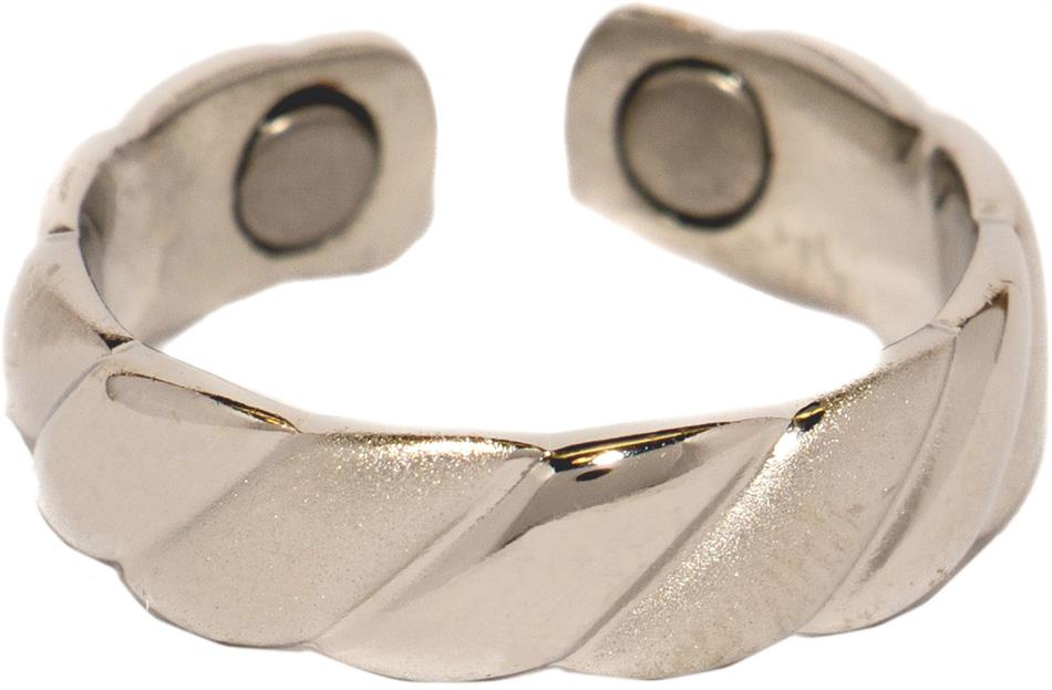Silver Plated Magnetic Therapy Ring (R04)