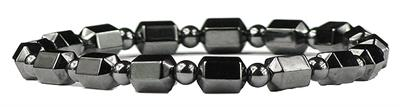 Hematite Small Spheres - Magnetic Therapy Bracelet (301RBEL) - DISCONTINUED