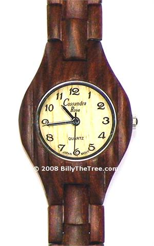 Red Rosewood Womens - Wooden Watch (R151W) - CLEARANCE SALE - DISCONTINUED