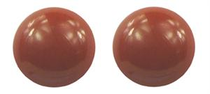 Simulated Red Jasper Semi-Precious Magnetic Therapy Earrings (E-RJ) - DISCONTINUED