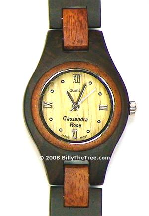 Romano Due Women's - Wooden Watch (ER126W) - CLEARANCE SALE - DISCONTINUED