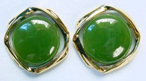 Polar Collection Jade Earrings (E0017)