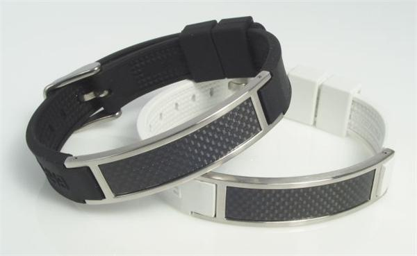Saint Carbon- Black - Magnetic Therapy Bracelet (Mens) (SCL-M-01) - DISCONTINUED