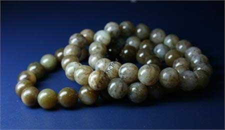 Jade Siberian Power Beads Bracelet (WJB-300-10)