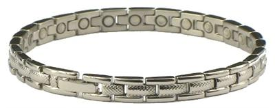 Tennis Classic - Stainless Steel Magnetic Therapy Bracelet (SS178S) - NEW!