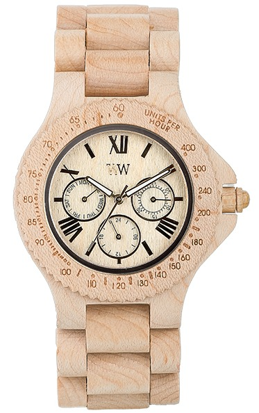 WeWood Wooden Watch - Sitah Beige (wwood01s)