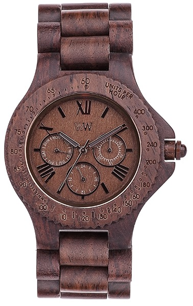 WeWood Wooden Watch - Sitah Chocolate (wwood02s) - DISCONTINUED