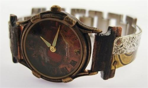 Small Minstrel - WatchCraft (R) Handmade Watch (SLVM13)