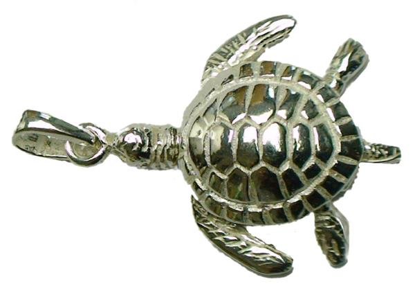 Sea turtle pendant w movable head legs and tail 925 sterling sea turtle pendant w movable head legs and tail 925 sterling silver mozeypictures Images