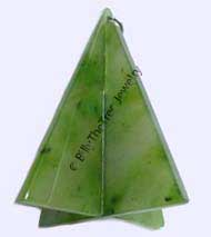 Jade Christmas Tree Figure (2177)