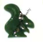Jade Squirrel Magnet - DISCONTINUED