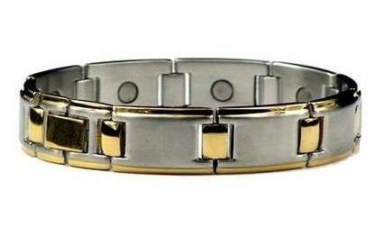 Golf Pro - Stainless Steel Magnetic Therapy Bracelet (SS-1)
