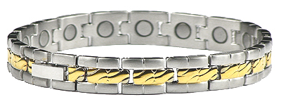 Ladies Collective - Stainless Steel Magnetic Therapy Bracelet (CSS-68)