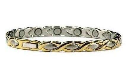 XOXO - Stainless Steel Magnetic Therapy Bracelet (SS-15)