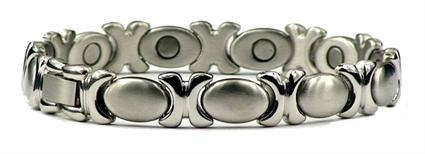 XOXO Classic - Stainless Steel Magnetic Therapy Bracelet (SS-18) - DISCONTINUED
