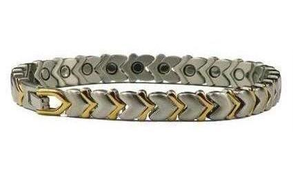 First Date - Stainless Steel Magnetic Therapy Bracelet (SS-22)