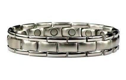 Tennis Pro - Stainless Steel Magnetic Therapy Bracelet (SS-30)