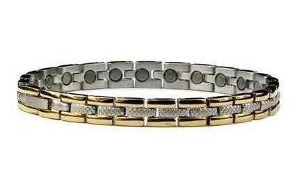 Memories of Venice - Stainless Steel Magnetic Therapy Bracelet (SS-34)