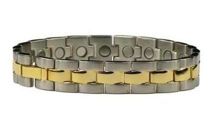 Solar Dream - Stainless Steel Magnetic Therapy Bracelet (SS-8)