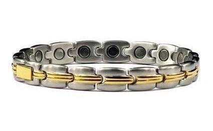 Nostalgia - Stainless Steel Magnetic Therapy Bracelet (SS-9)