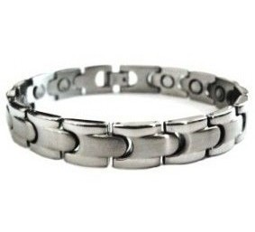 Silver Effects - Stainless Steel Magnetic Therapy Bracelet