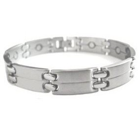 Silver Connection - Stainless Steel Magnetic Therapy Bracelet