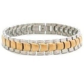 Golden Planet - Stainless Steel Magnetic Therapy Bracelet